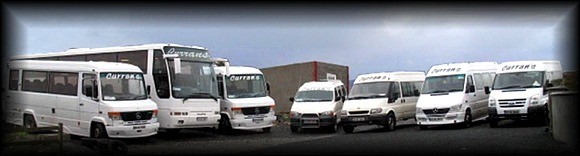 Curran Coaches, Donegal. Coach hire service
