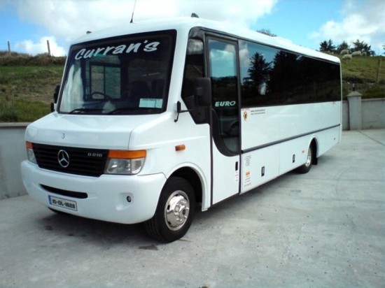 Catering for local community & tourism throughout Ireland, Curran Coaches